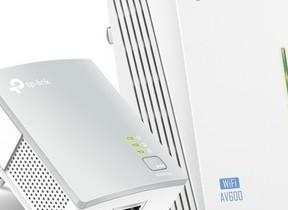 電気配線を使ってネット環境を構築PLCアダプター2台セット 離れた部屋へWi-Fi環境も