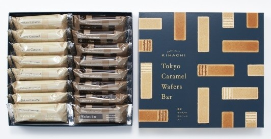 パティスリー キハチの『東京キャラメルウエハースバー』