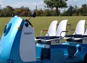 人にも環境にも優しい4人乗りモデル3輪電気自動車「Like(ライク)-P3」 大阪モーターショーで公開