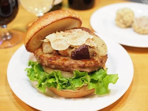 1万円相当の贅沢バーガー、25個限定1992円で発売