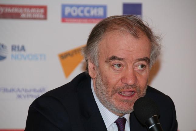 ワレリー・ゲルギエフ氏/「ロシアの季節」閉幕式より