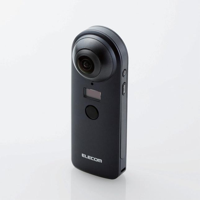 4Kの高画質で360度動画&静止画を撮影できる