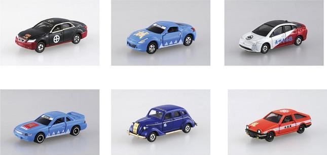 幕末の志士たちに思いを馳せる全6種 車種のチョイスにもこだわり