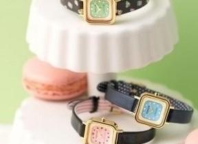 スイーツみたいな時計 最新かわいい「wicca」と老舗パティスリー「ラデュレ」がコラボ