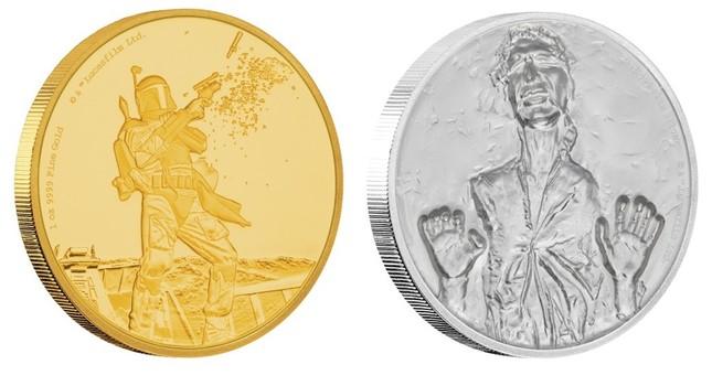 劇中の印象的なシーンをデザインしたコイン全4種
