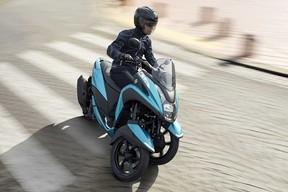 さらに進化! フロント二輪オートマチックコミューター「TRICITY125/ABS」2018年モデル発売