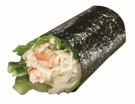 「シャリ野菜えびマヨ巻」