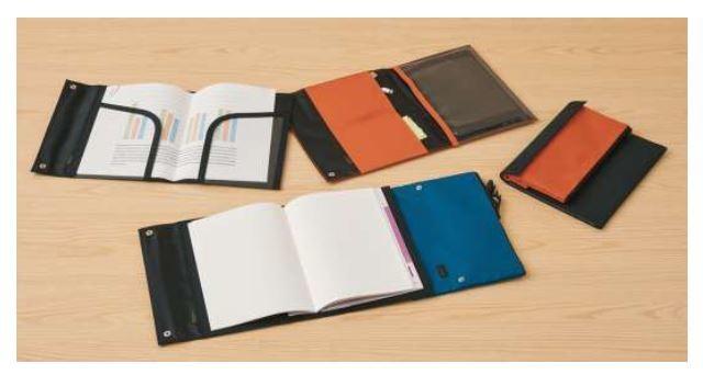 使用状況に合わせたノートカバーが作れる