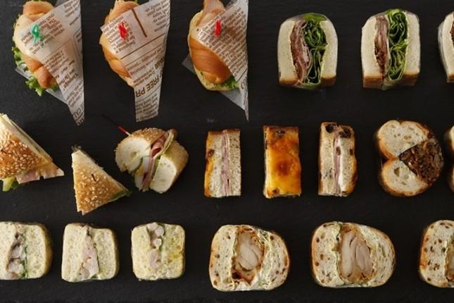 サンドウィッチ18種が食べ放題