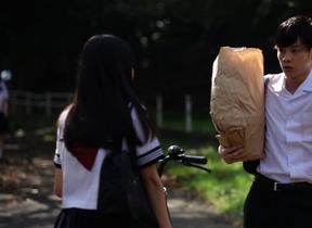 学生服が似合いすぎ! 若手カメレオン俳優・柾木玲弥、「ミチナル映画祭」で第2の成人式?