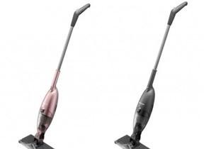 吸い込み&拭き取り掃除、同時にOK 市販のワイパーシート使えるコードレスワイパー掃除機