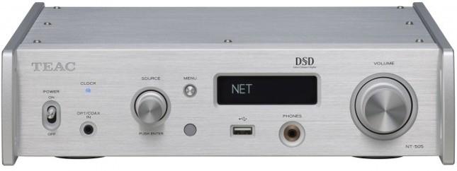 コンパクトな筐体にティアックのデジタルオーディオ&ネットワーク技術を集約