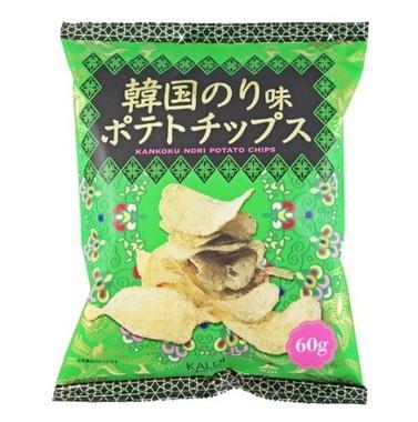 「韓国のり味 ポテトチップス」(画像は「カルディコーヒーファーム」公式ツイッターより)