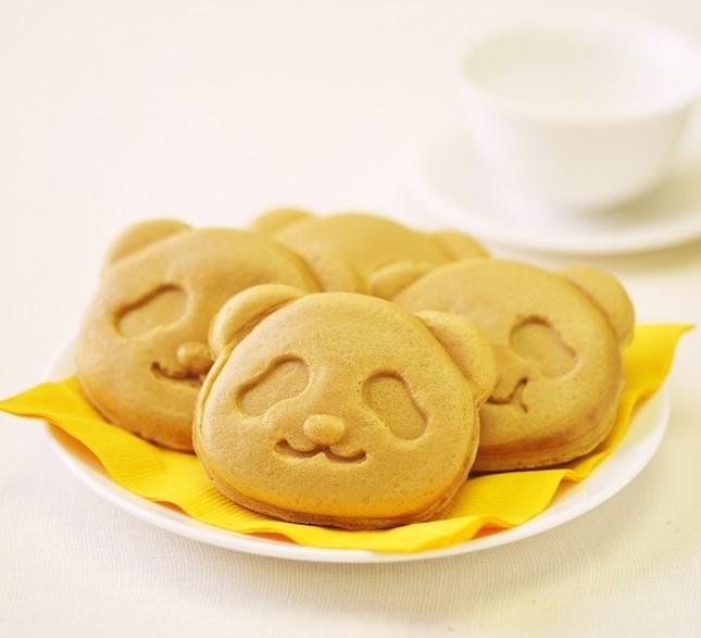 パンダ焼き(いちご&チョコ)