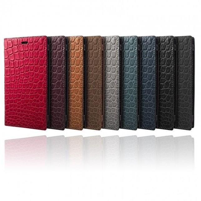 高級レザー素材を贅沢に使用 「6」以降のiPhoneシリーズに対応