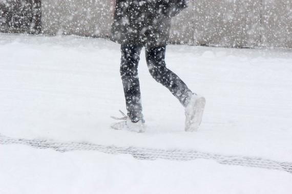 大雪の中、小田急電鉄は…