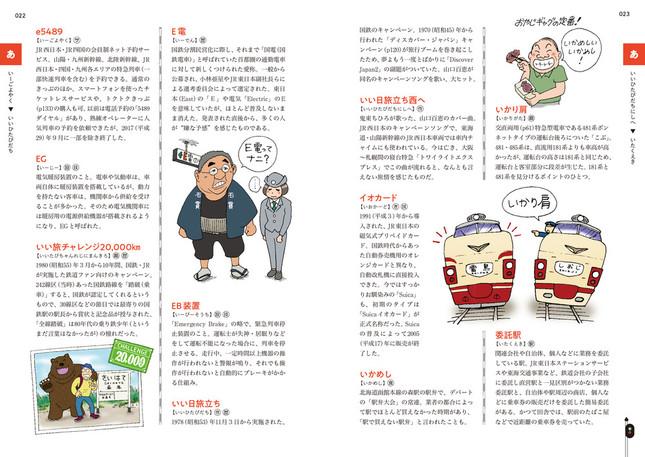 イラスト&豆知識たっぷりの解説ページ