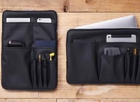 仕事道具をスマートに収納 A4サイズのバッグインバッグ