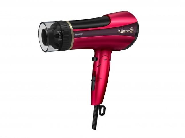 女性の命・髪への熱ダメージを抑え、やさしくドライ&スタイリング