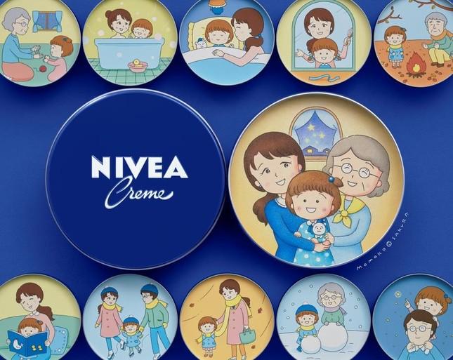 さくらももこさんが描いた「NIVEA STORIES PROJECT」のイラスト