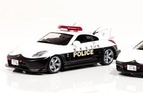 栃木県警パトカーを忠実に再現 43分の1スケールミニカー
