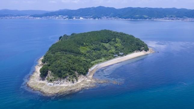 シルエットから「くじら島」の名がついた