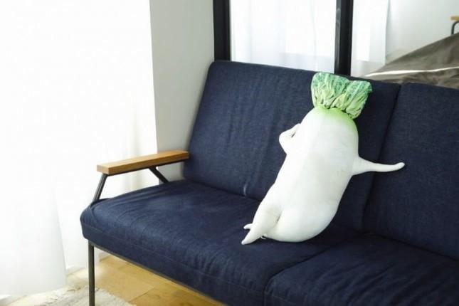 ミニサイズはクッションとしてソファに置くのもあり