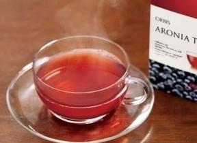 ポリフェノール豊富な「アロニア」配合した紅茶