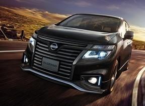 日産自動車、「エルグランド」特別仕様車発売
