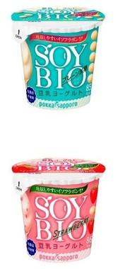 吸収しやすい大豆イソフラボン含有の豆乳ヨーグルト