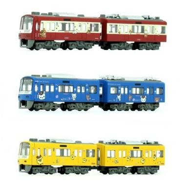 リラックマデザインの3種類のラッピング電車がBトレインショーティーに!