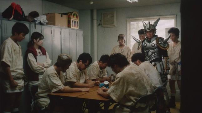 山下さんから熱血指導を受ける生徒たち