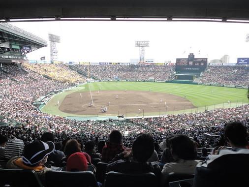 舞台となる甲子園球場(WikimediaCommonsより)