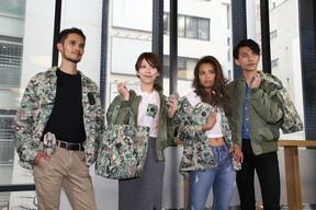 IQOSが「アパレル」に参入 NIGO氏とコラボで迷彩服発売