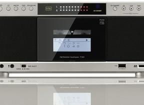 カセットテープやCDをハイレゾ並み高音質で ラジカセレコーダー
