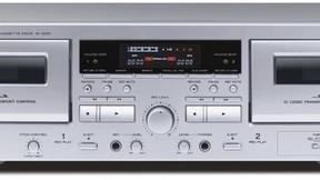 PCでデジタル録音できるダブルカセットデッキ
