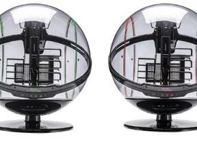 透明な球体アクリルシェル フルタワーPCケース限定発売