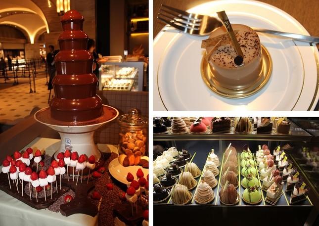 チョコレートを使ったスイーツを提供する「Patisserie&Café DEL'IMMO」