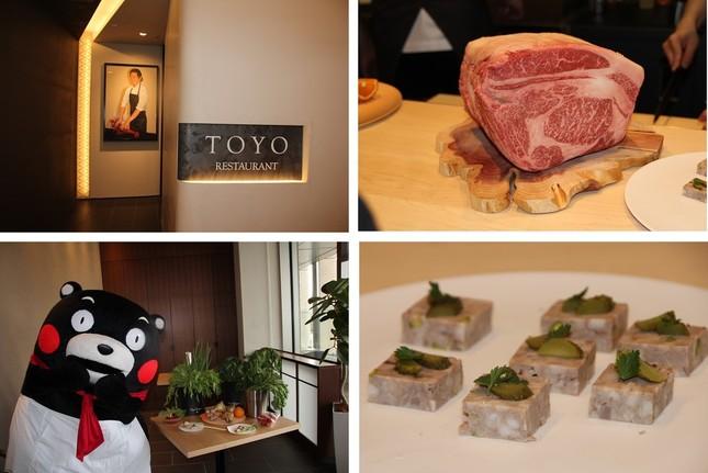 フレンチの影響を受けた和食をフレンチスタイルで提供する「RESTAURANT TOYO」