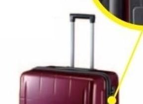 事前に重量オーバーがわかる計測器搭載スーツケース