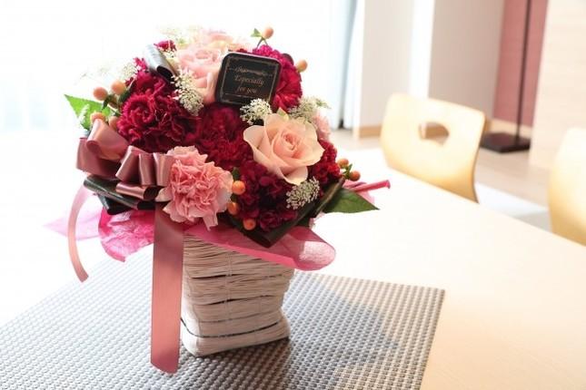 特別な思い出の品となる花かご