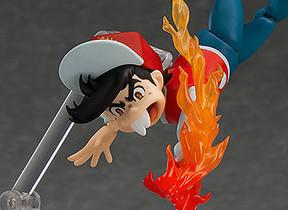「水魚のポーズ」「炎のコマ」を再現 「ゲームセンターあらし」可動フィギュア