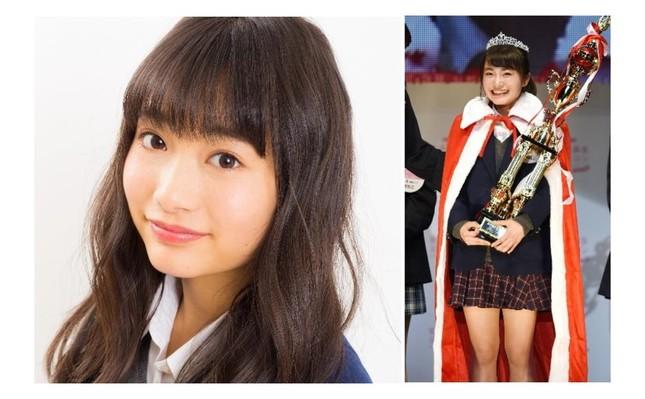 「女子高生ミスコン2017‐2018」のグランプリに輝いた、福岡県代表のめいめい(福田愛依)さん