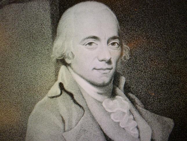 クレメンティの肖像画。これを見ても古典派的作曲家だったことがわかる
