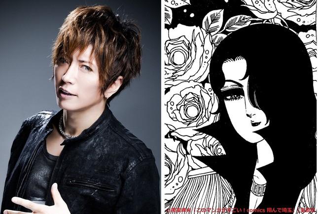 埼玉育ちの美しい高校生・麗(れい)を演じるGACKTさん