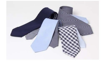 綿100%なのに洗えるネクタイ!