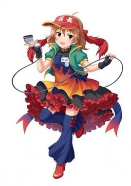 荒木比奈 描きおろしコラボイラスト(C)BANDAI NAMCO Entertainment Inc.