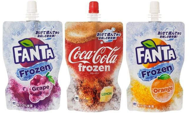 「コカ・コーラ」&「ファンタ」のフローズンドリンク