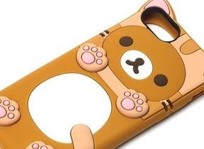 「リラックマ」「すみっコぐらし」キャラのiPhoneケース