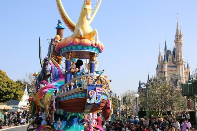 昼のパレード「ドリーミング・アップ!」では「ベイマックス」が初登場